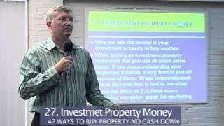 The Property King-Sean Summerville The Smart Way to use Investment Property Money Part 27