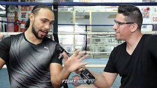 KEITH THURMAN REACTS TO JOSHUA LOSS TO RUIZ; TELLS STORY OF 1ST CAREER KNOCKDOWN AS LESSON IN FIGHTS