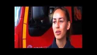 Des sapeurs-pompiers volontaires engages