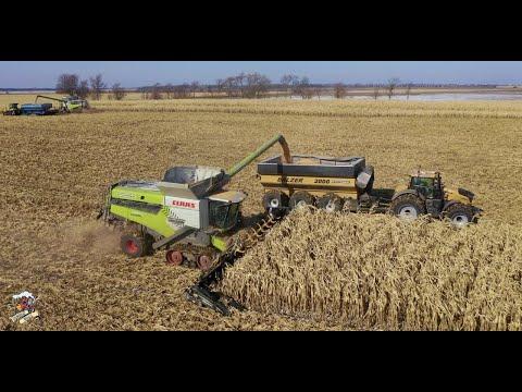 2019 Illinois Corn Harvest With On Track Farming Inc