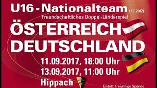 13.09.17 Österreich U16 - Deutschland U16