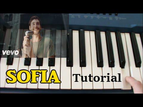 [ITA] Sofia (Alvaro Soler) Tutorial Piano