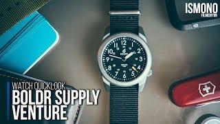 A titanium watch under €150.- Boldr Venture WATCH QUICKLOOK