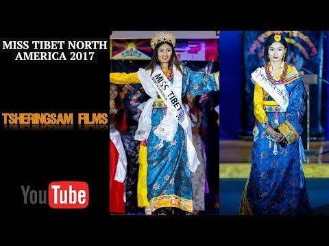 Miss Tibet North America  2017 || Tibetan Traditional costume round || New York City ||HD