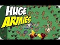 ARMY the SIZE OF THE MAP! ► Lordz.io Gameplay