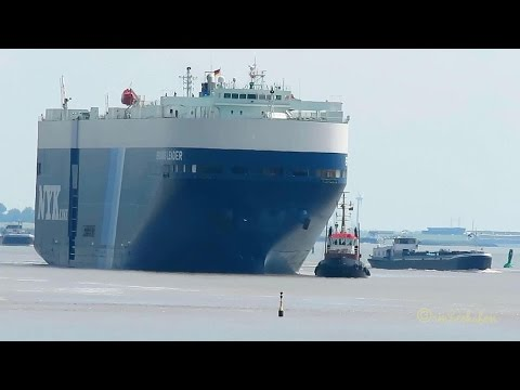 TMS PRINSENLAND & TMS MAAIKE busy ship traffic in Emden Port inland tankers and many more