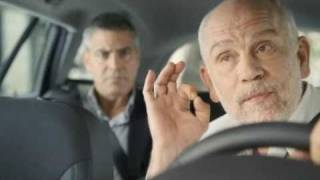 Malkovich and Clooney - Nespresso 2010, Cab Ride (version 1, spanish subs)