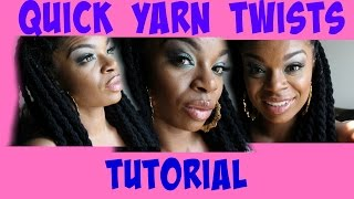 Quick Yarn Twist Tutorial
