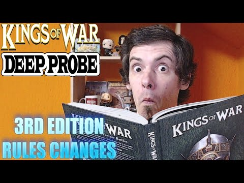 Kings of War Deep Probe - 3rd Edition Rules Changes