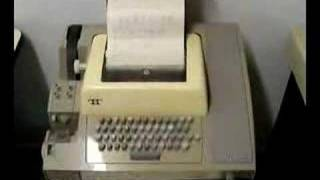 PDP-11/40 Computer and ASR-33 Teletype