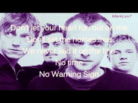 Travis - warning sign (lyrics)