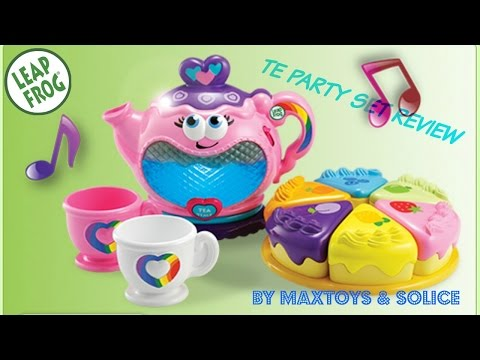 Musical Rainbow Tea Party Set from LeapFrog
