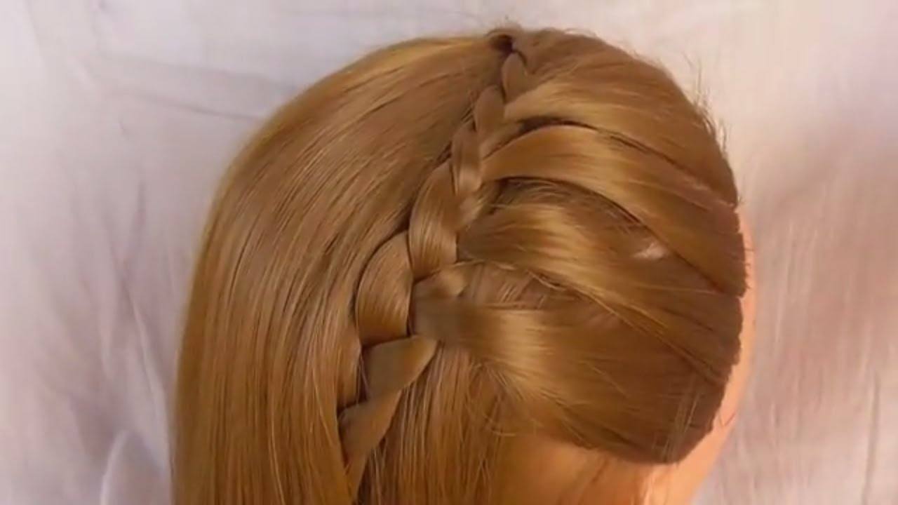 Daily Use Hairstyle For Girl  Everyday Routine Hairstyle