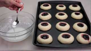 How To Make Raspberry And Almond Shortbread Thumbprints