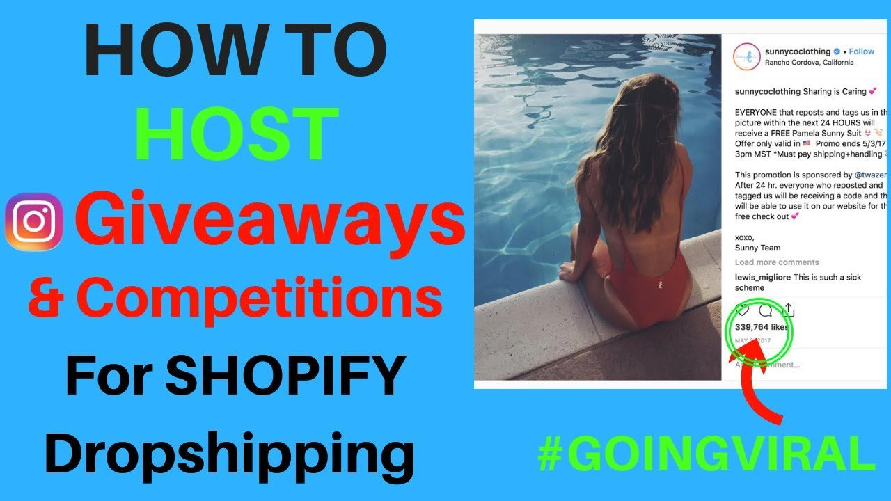 How To Properly Host Giveaways And Competitions On Instagram - Secret  Giveaway Tactics Revealed!