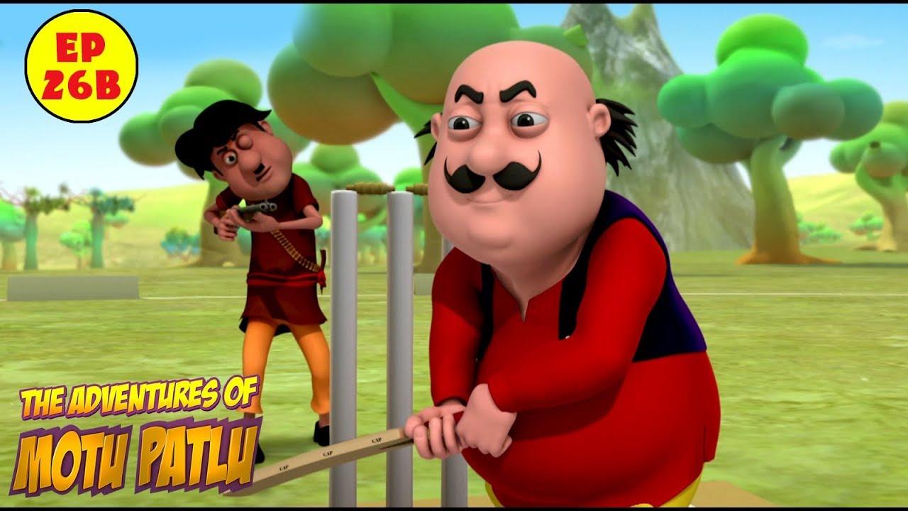 Motu Patlu Cricket League Best Cartoon For Kids Youtube