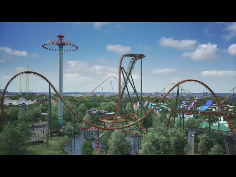 Manny's - World's Tallest, Fastest Dive, Scariest Roller Coaster Preparing to Open