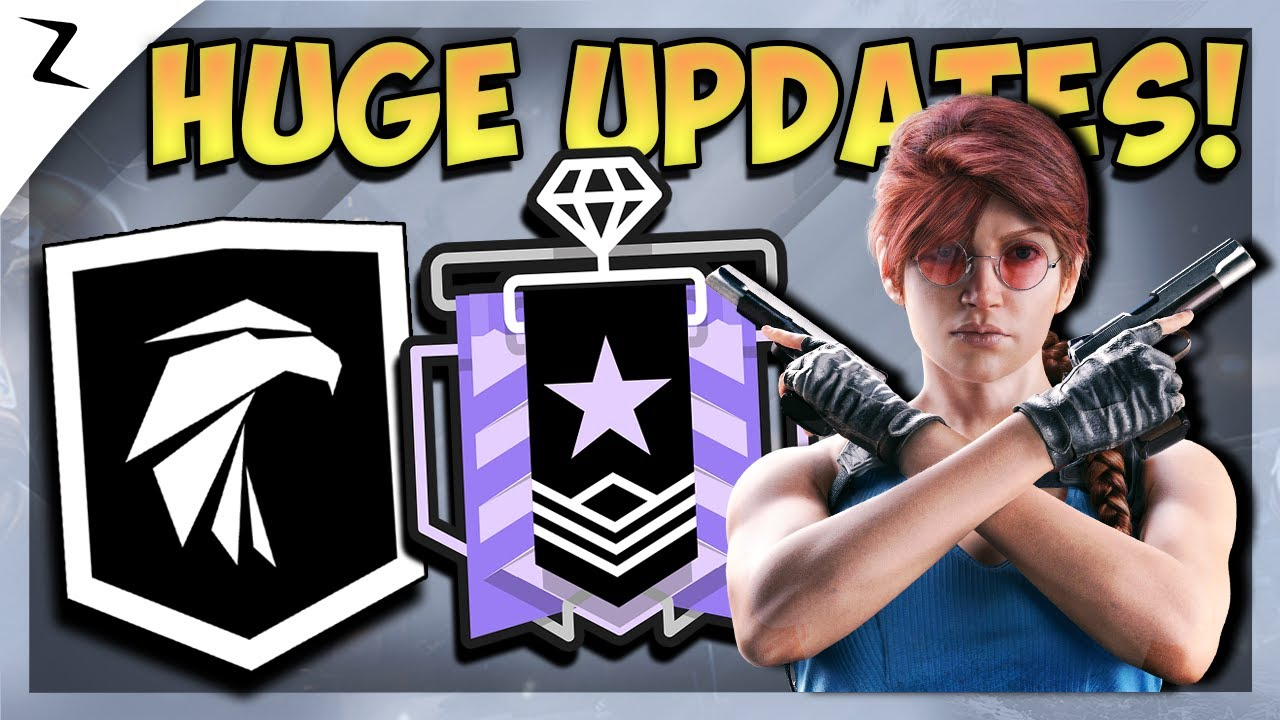 Huge Event! Elite Squad! MMR Update! - Rainbow Six Siege