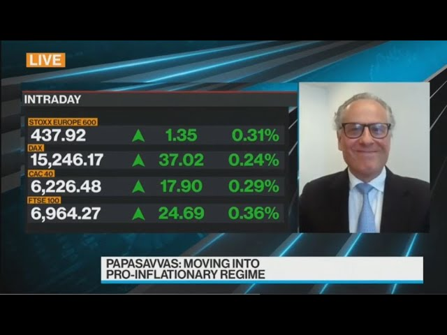 15 April 2021, Thanos Papasavvas on Bloomberg TV: interest rates, yield curves and central banks