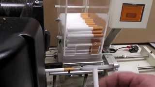 Repeat youtube video nabijarka gilz, maszyna do papierosów.