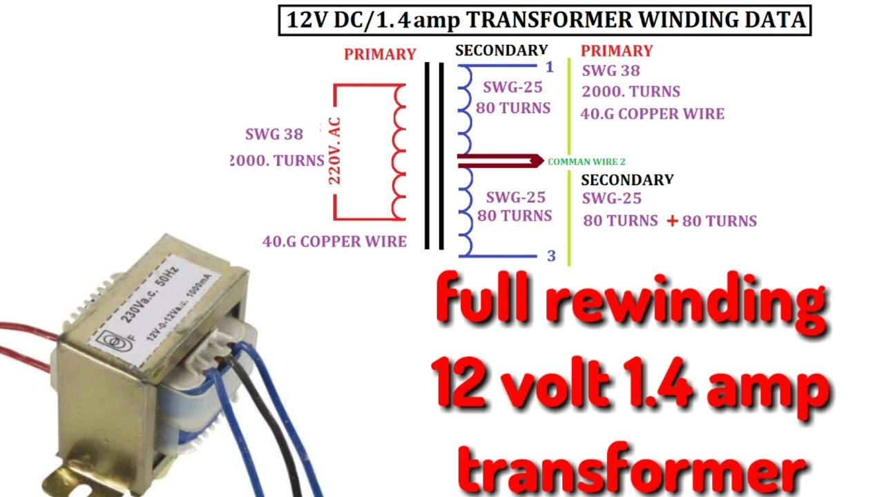 12 Volt Transformer Wiring Diagram - 2009 Pt Cruiser Lift Gate Wiring  Diagram - gsxr750.2010.jeanjaures37.frWiring Diagram Resource