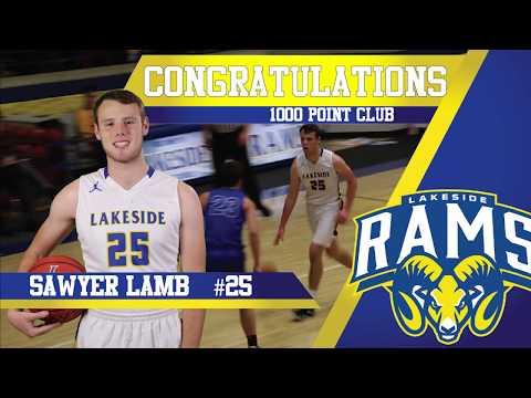 1000 Points   Sawyer Lamb   Lakeside High School