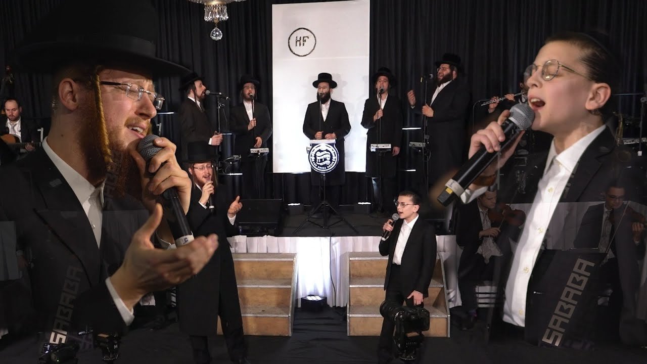 'A Yiddishe Mame' Avrum Mordche Schwartz & Shulem Brodt - Sababa & Shira Choir א י