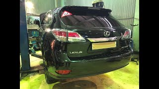 Lexus RX350 (2012-2015) - Пристрій і слабкі місця автомобіля