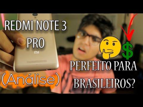 Smartphone XIAOMI REDMI NOTE 3 PRO - O MELHOR CUSTO BENEFÍCIO DO MUNDO? (Review) R$650
