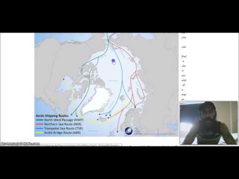 Hiding the TRUE flat outer Earth, NO cross polar arctic shipping routes why    hmm