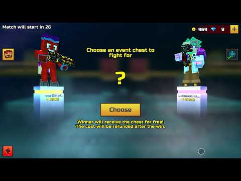 Playing Duels With Xbox Controller   Pixel Gun 3D