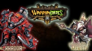 Warmachine & Hordes - Khador (Karchev) vs. Protectorate of Menoth (E-Kreoss) - 50pt Battle Report