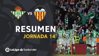 Resumen de Real Betis vs Valencia CF (2-1)