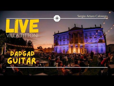 《LIVE》 Villa Tittoni - Nylon Guitar & Fishman Loudbox Artist [Manì/Calonego]