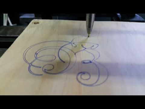 DIY cnc milling machine. First motion.