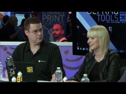 Defrag Tools: Live - TechEd 2014 - Paula Januszkiewicz Part 1