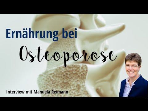 Ernährung bei Osteoporose   Interview mit Manuela Reimann - Satte Sache   Ernährungsmedizin