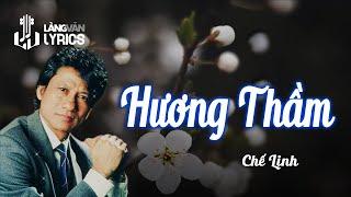 Chế Linh - Hương Thầm [OFFICIAL KARAOKE VERSION]