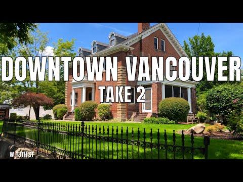 [Take #2] Downtown Vancouver, Washington State 2019 | 4K 60ᶠᵖˢ | Virtual Walking Tour | City