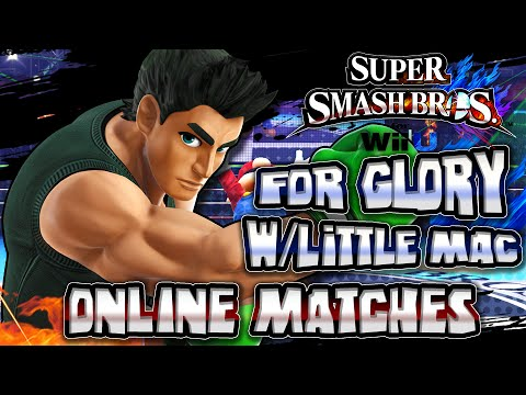Super Smash Bros Wii U - (1080p 60FPS) For Glory w/Little Mac Online Matches