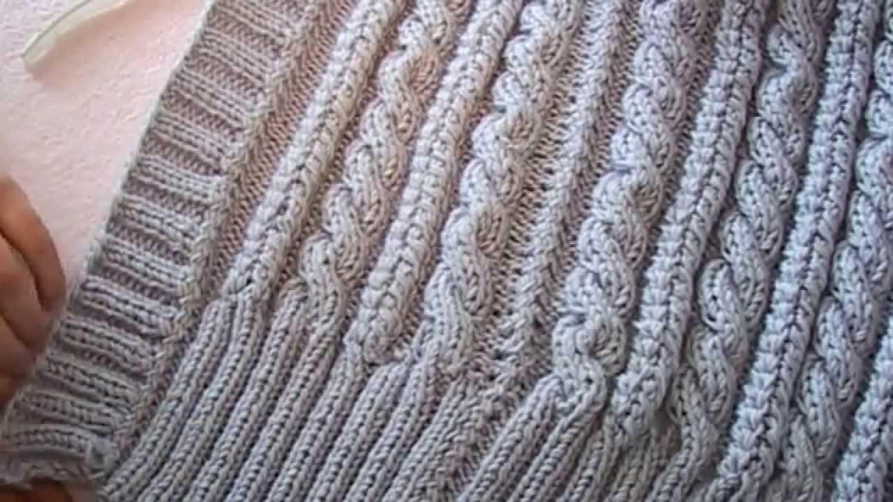 Вязаный ЖИЛЕТ Крючком - 2018 / Crocheted vest Hook / Gehäkelte .