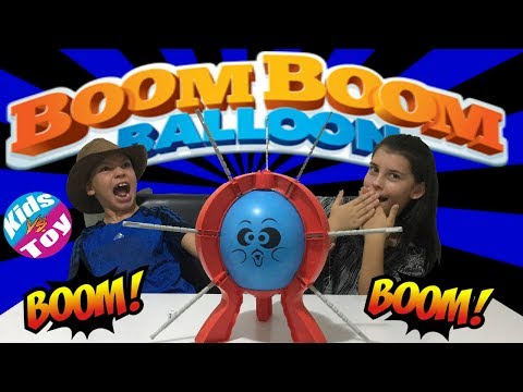 Boom Boom Balloon | Don't Pop It!!! Fun KIDS vs TOY Gameplay Review