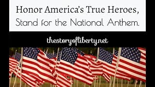 Honor America's True Heroes, Stand for the National Anthem. NFL