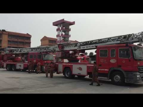Malaysian Fire Service High Reach Emergency Response Driving, Train the Trainers Course