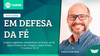 Bem vindo ao Culto da Tarde | Rev. Cácio Silva