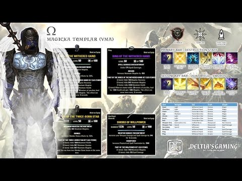 ESO Magic Templar PvE Build [Omega]