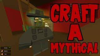 Craft Mythicals In Unturned - 1000 Scrap = Mythical (New Update)