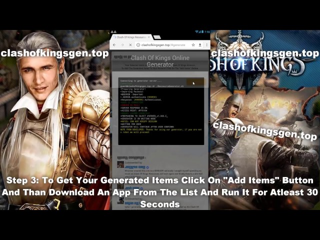 Clash Of Kings Hack - Clash Of Kings Hack Gold (IOS and Android) 2017 New!!