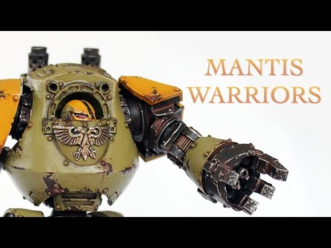 40 Facts and Lore on the Mantis Warriors Warhammer 40k Spacemarine