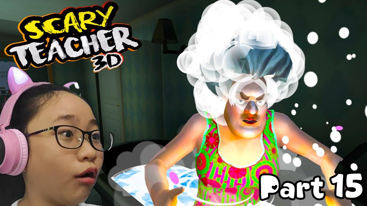 Download Scary Teacher 3D CHAPTER 3 - Part 15 - Santa's Little Helper and Let Itch Be - Gameplay Walkthrough!